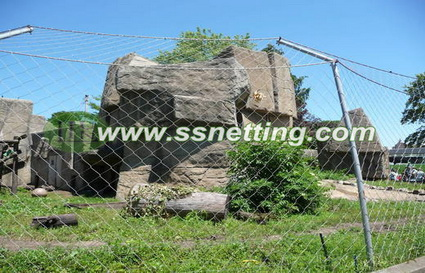Supply Tiger enclosure mesh, tiger cage fence netting of china manufacturers