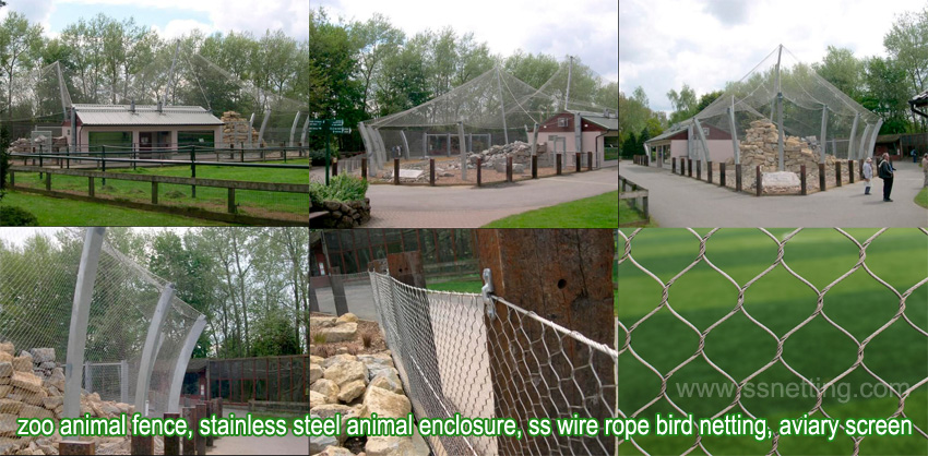 Zoo Aviary Netting suppliers in China