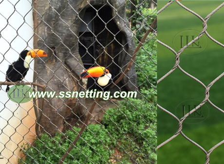 factory supplies for parrot exhibit fence netting.jpg