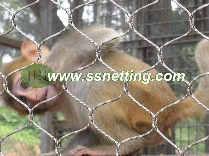 Stainless steel zoo mesh for Animal protection fence