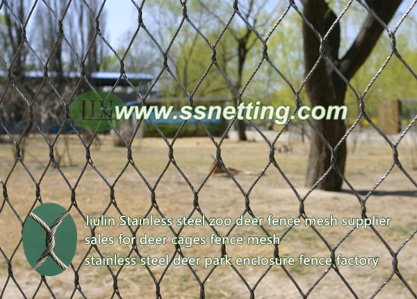 Stainless Steel Deer Fence Netting