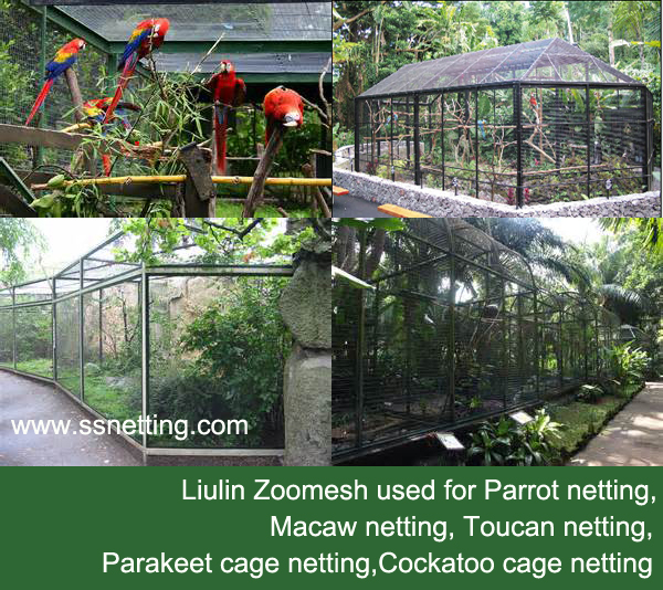 Producing and supplying Parrots cage netting