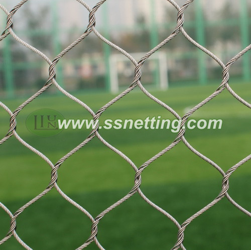 Zoo mesh, zoo netting, zoological enclosure mesh