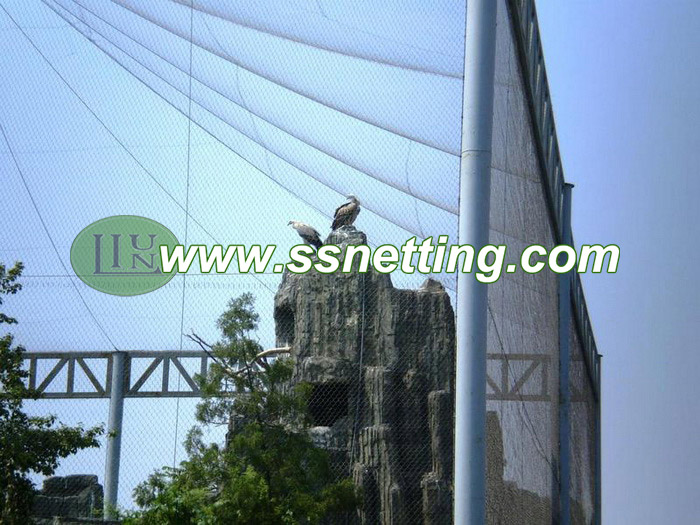 Supply 304 Stainless steel Golden eagle netting, sale eagle netting screen, wire rope eagle net suppliers