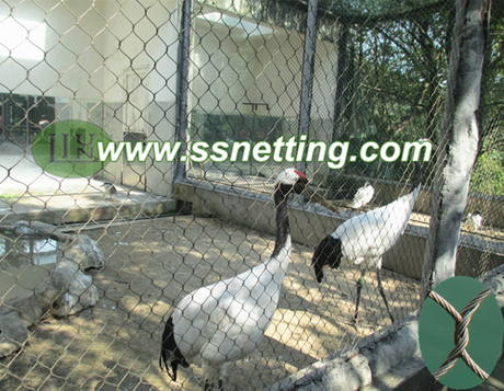 stainless steel egret protective net, egret cage fence mesh.jpg