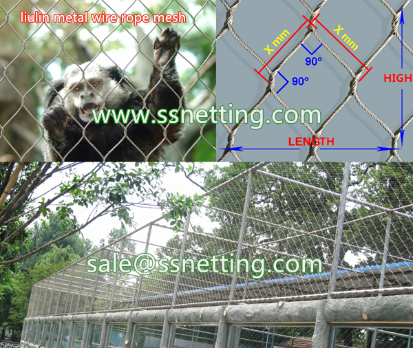 small animal cages fence mesh, safety enclosure mesh for cats cagest, big cat protect fence net, metal mesh for zoo enclosure mesh, cats venues cover mesh, animal exhibit safety mesh
