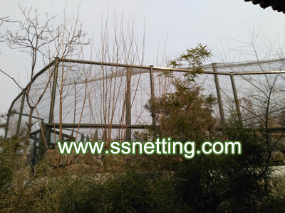 stainless steel wire rope netting for zoo animal enclosure fence