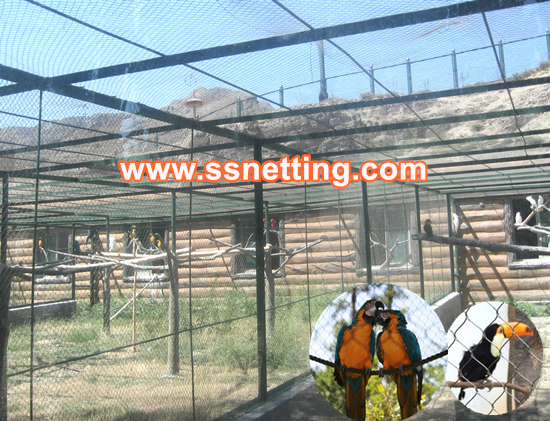 Liulin is a production company that operates a giant high quality macaw parrots cage netting
