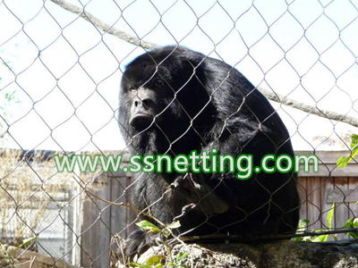 chimpanzee enclosure fence netting mesh for sale, chimpanzee enclosures mesh suppliers liulin factory