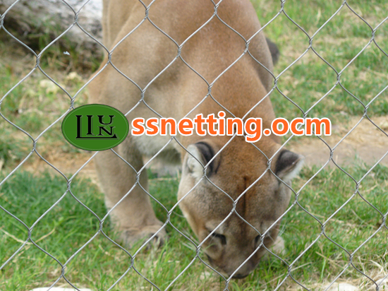 sale for tiger enclosure mesh, tiger fence netting, tiger cages in USA