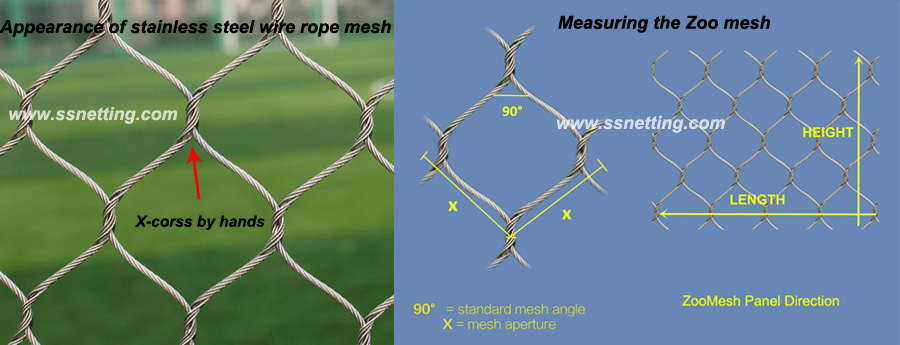 Zoo mesh factory supply the zoo mesh products