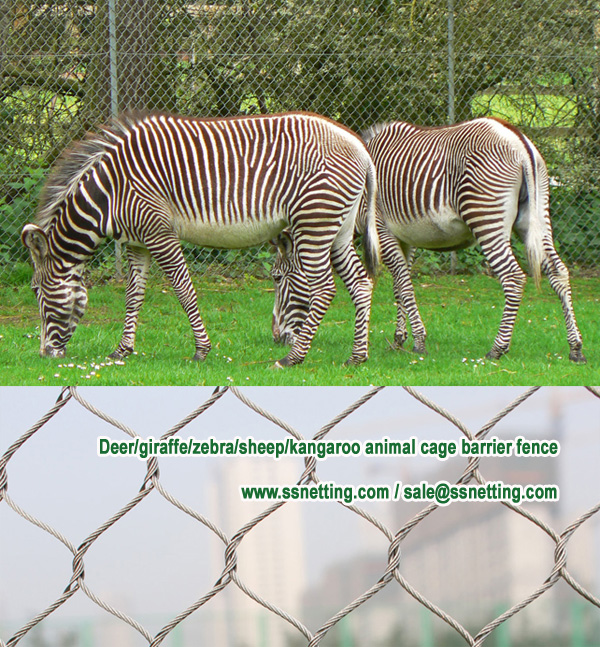 Deer-giraffe-zebra-sheep-kangaroo animal cage barrier fence