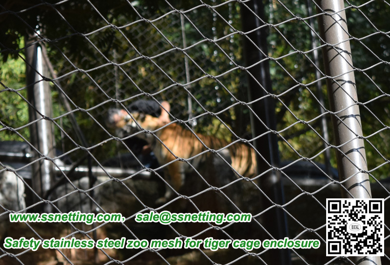 How to effectively avoid such incidents, so take preventive measures, the most important thing is to do animal cage safety. Safety cabinets play a very important role in the zoo safety protection, especially for large ferocious animals protective enclosure, such as tiger cage enclosure, lion cage mesh, leopard cage fence, etc.