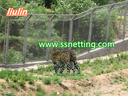 Liulin wire cable mesh, wire rope cables mesh for leopard enclosure