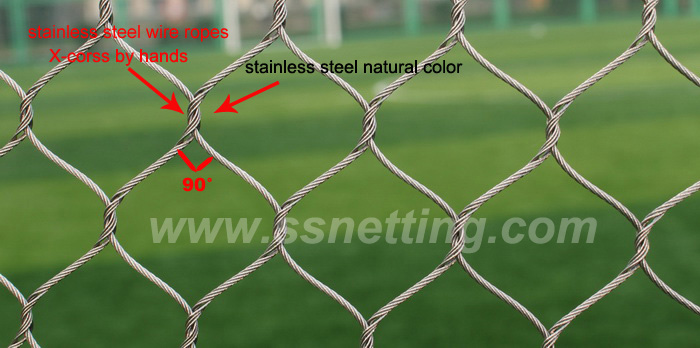 Why the stainless steel cable netting was called Zoo mesh?