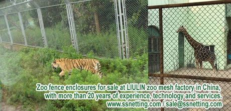 Zoo fence enclosures for sale at LIULIN zoo mesh factory in China, with more than 20 years of experience, technology and services..jpg