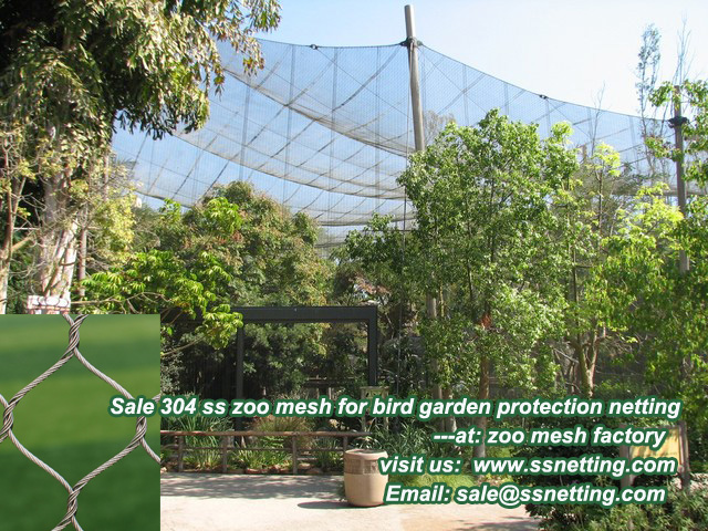 zoo mesh for zoo bird world netting mesh