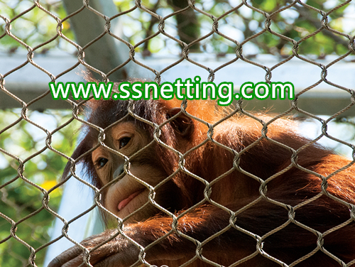 monkey enclosure mesh for sale, monkey enclosure fence netting
