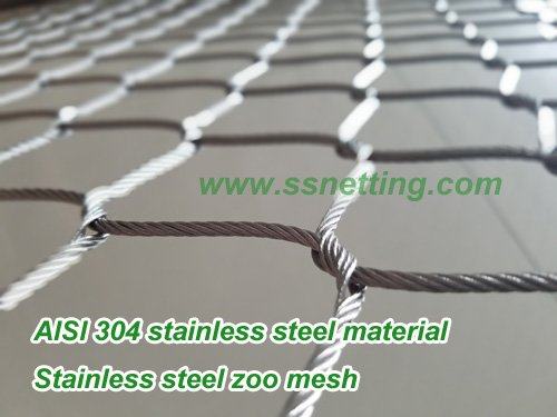 stainless steelzoo mesh 304