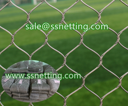 stainless steel braid wire rope netting manufacturer