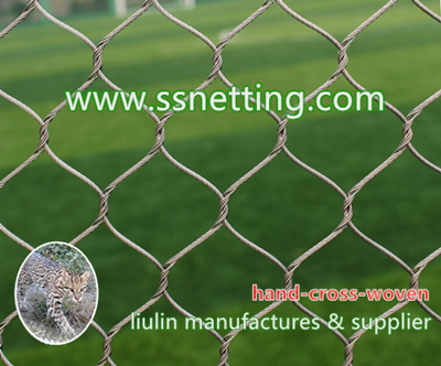 tiger enclosures, tiger cage fence, tiger exhibit enclosures, Zoo enclosures netting for tiger cage fence, wire rope netting for tiger cages