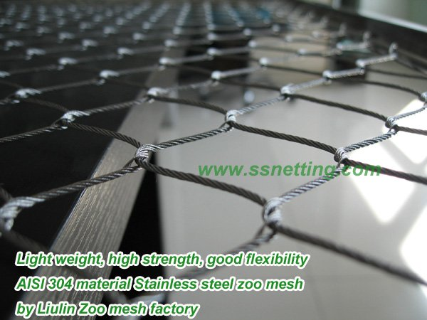 AISI 304 material Stainless steel zoo mesh.jpg