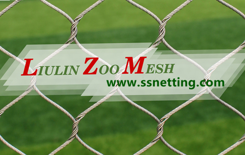 stainless steel rope net, wire rope & cable netting mesh suppliers | liulin zoo mesh factory design