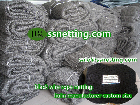 stainless steel black wire rope netting.jpg