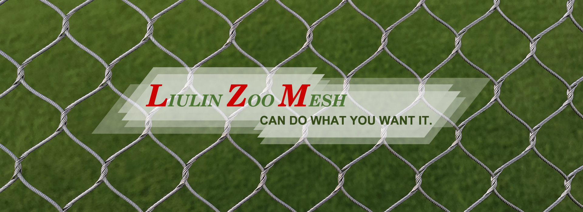 Stainless steel zoo mesh make a safe home for animals