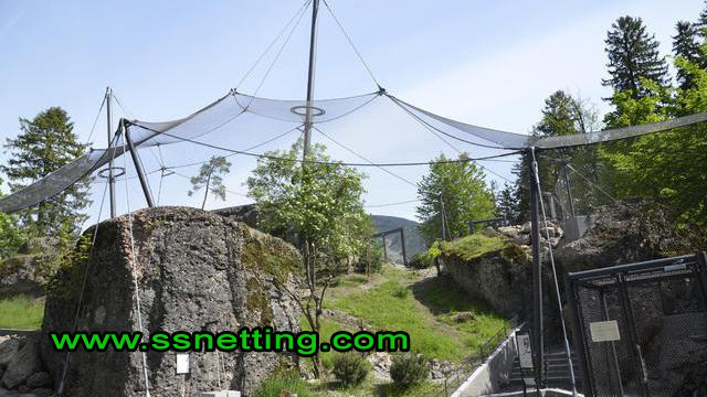 Stainless steel aviary netting