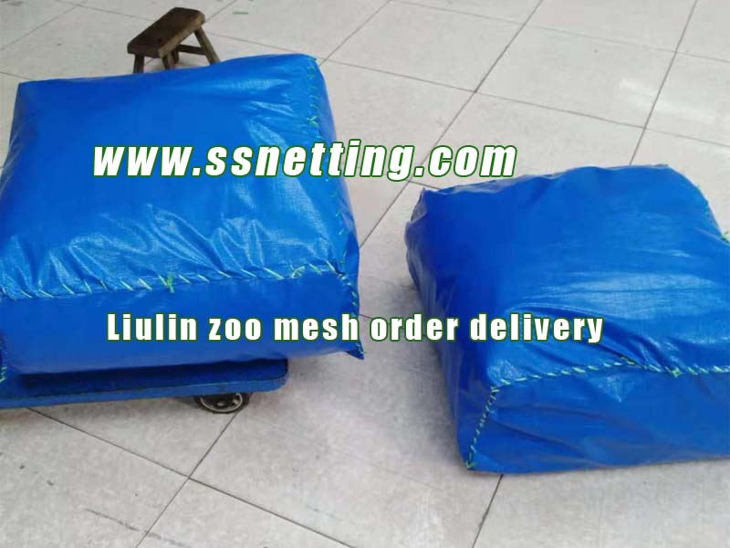 Woven Wire Mesh Enclosure Netting Order Delivery